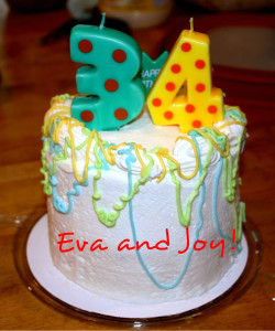 Eva&Joy-34thBirthdayCake