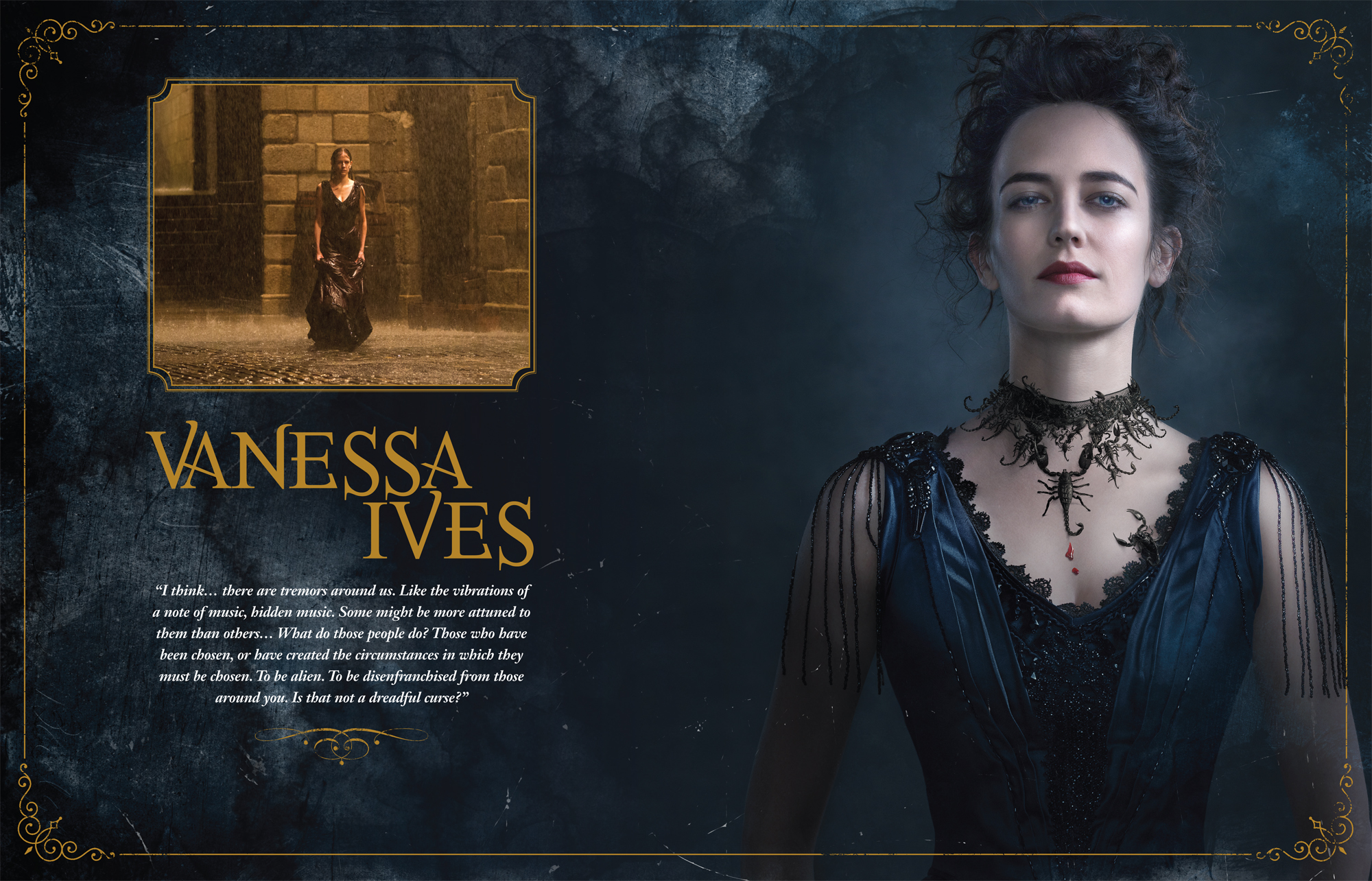 The art and making of penny dreadful book designer martin for The ives