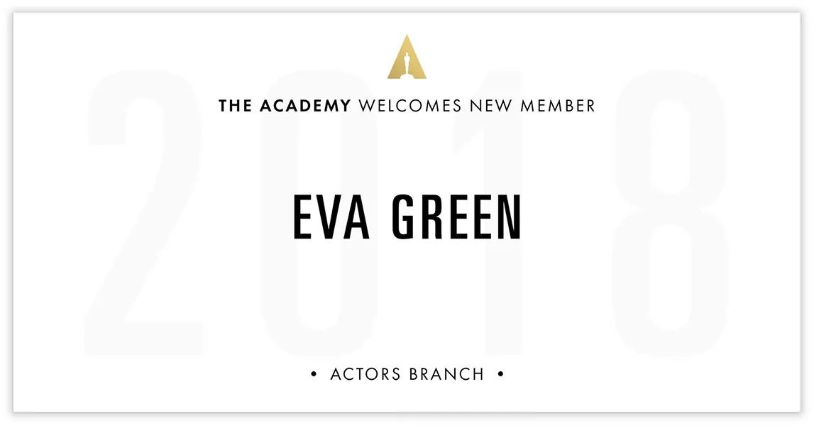 Eva-Green-AMPAS-Welcome